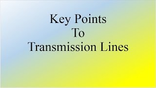 Video Lecture for GATE ECE preparation on transmission lines