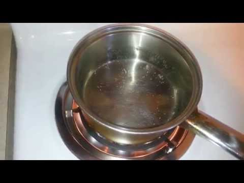 Heat food on stove No Gas No Electric ( Emergency