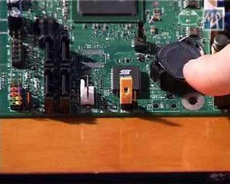Borrar configuración del BIOS