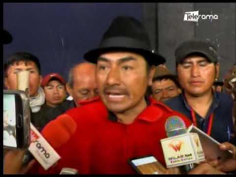 Indígenas están en Quito para exigir rectificaciones al gobierno