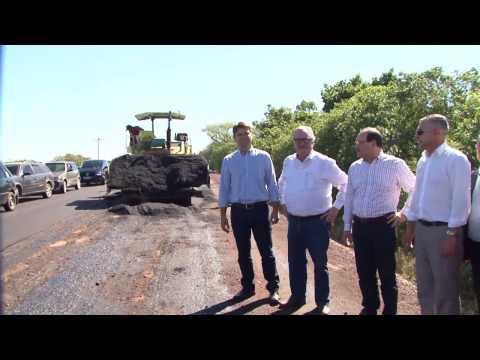 Governo dá início a obras da ERS-713 em Sertão Santana