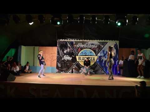Black Sea Dance Camp 2016 - Dancehall Battle: Robert vs Ionela (видео)