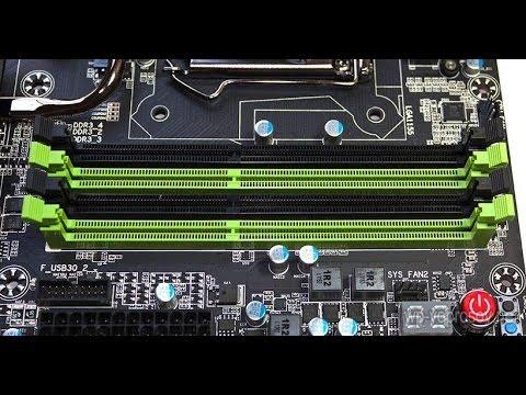 Не работает компьютер с оперативной памятью во втором слоте