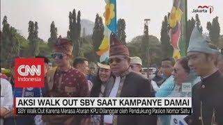 Video Aksi Walk Out SBY saat Deklarasi Kampanye Damai Pilpres 2019 MP3, 3GP, MP4, WEBM, AVI, FLV Oktober 2018