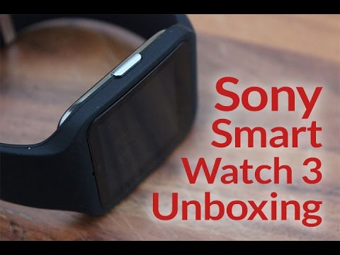 Sony SmartWatch 3 Unboxing