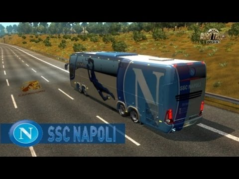 Bus Macropolo G7 1600LD S.S.C Napoli Skin
