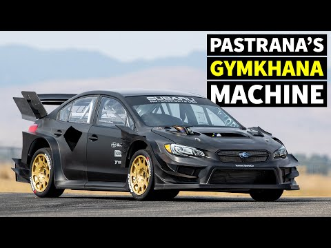 Travis Pastrana's NEW Subaru STI Gymkhana Car