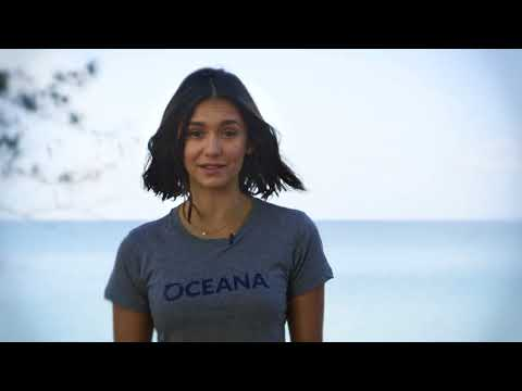 Nina Dobrev Wants to Save Sharks (30s)
