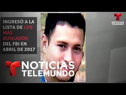 Cae hondureño que estaba en la lista de los 10 más buscados del FBI | Noticias | Noticias Telemundo