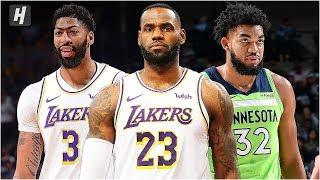 Minnesota Timberwolves vs Los Angeles Lakers - Full Game Highlights | December 8, 2019