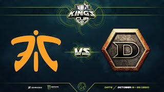 Fnatic против Detonator, Вторая карта, Play-Off, SEA Region, King's Cup 2