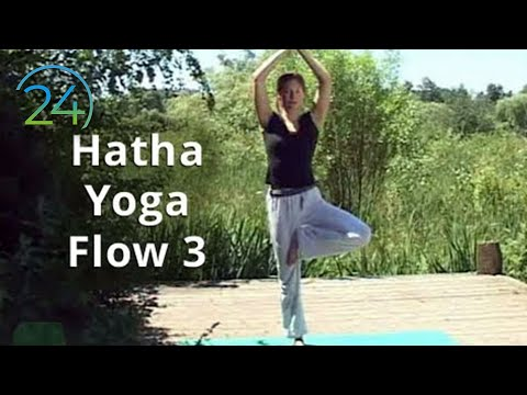 yoga - DVD w/instant downloads: https://gum.co/Hatha_flow_3_4_DVD Download: https://gum.co/Hatha_Flow_3 Join Sarah through this gentle, vinyasa based yoga flow, des...