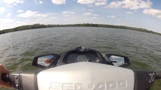 4. 2013 Sea Doo GTI 130 Review and ride