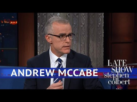 Andrew McCabe: There Was No 'Coup' To Remove Trump