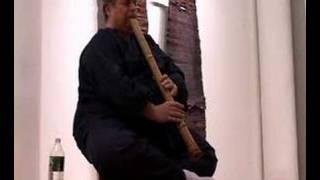 Kyorei Shakuhachi solo by Ronnie Nyogetsu Reishin Seldin