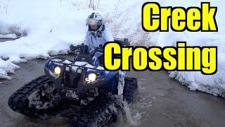 10. Winter All Terrain Vehicle Tracking On The Yamaha Kodiak & Grizzly - Jan.17, 2015