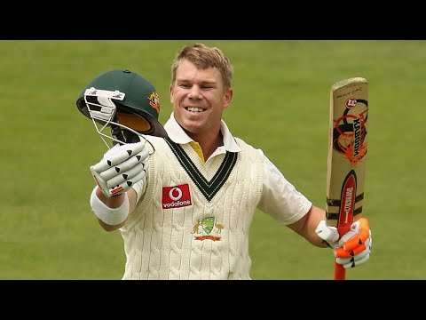 From the Vault: David Warner's first Test hundred