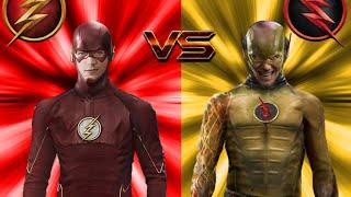 The Flash vs The Reverse-Flash ALL FIGHT (season 1)!