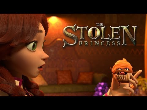 The Stolen Princess (Official Teaser) | Animated Kids Movie 2019