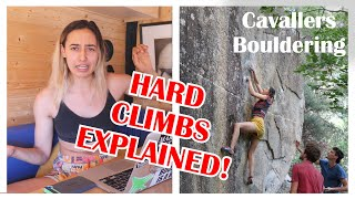 How to climb 🧗Advanced climbing movements EXPLAINED 💪🏽Cavallers Bouldering by Anna Hazelnutt