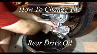 9. How To Change The Final Drive Oil In A Motorcycle Yamaha FJR 1300 ES