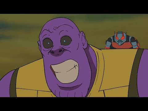 Thanos wins? - Avengers Endgame Parody Animation - Movie Shenanigans!