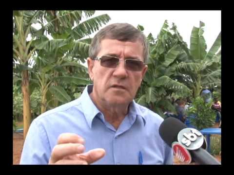 Secretária de agricultura e empresa privada promovem dia de campo a pequenos produtores