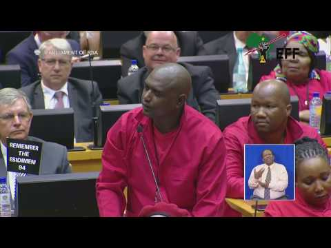 """SG Godrich Gardee   """"Zuma has failed to uphold the consitution"""""""