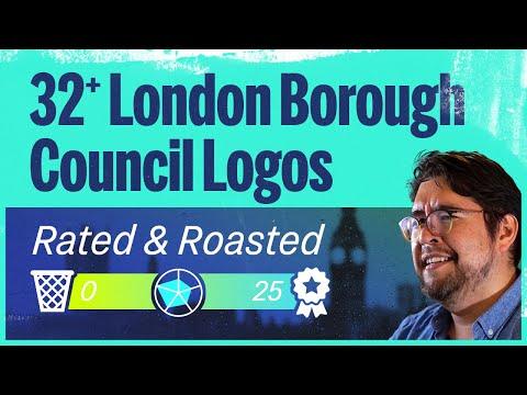 Designer ranks every London borough's logo from best to worst.