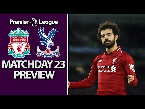 Video: Liverpool v. Crystal Palace | PREMIER LEAGUE MATCH PREVIEW | 1/19/19 | NBC Sports