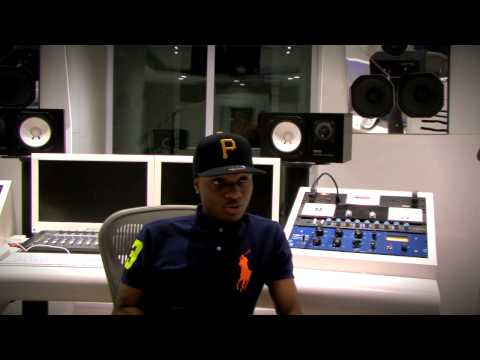 0 VIDEO: DJ Fully Focus Catches Up With Wizkid At Konvict Studios ATLWizkid