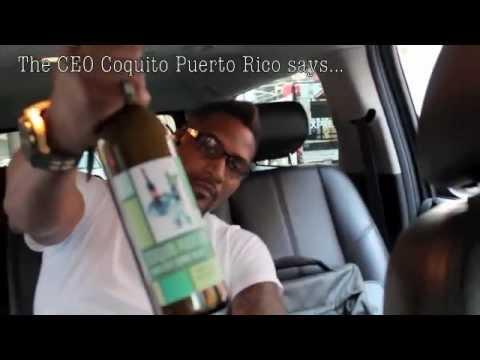 "Times Square for ""Coquito Puerto Rico"" Le Creme Liqueur"