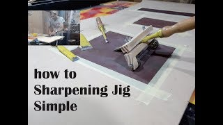 Video How to make a Sharpening Jig simple MP3, 3GP, MP4, WEBM, AVI, FLV November 2018