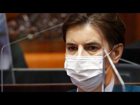 Σερβία: Υγειονομικοί αποδοκίμασαν την πρωθυπουργό Άνα Μπρνάμπιτς…