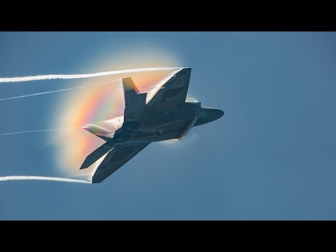 The Lockheed Martin F-22 Raptor...
