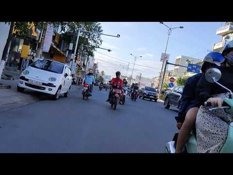 Перейти дорогу во Вьетнаме (Нячанг)