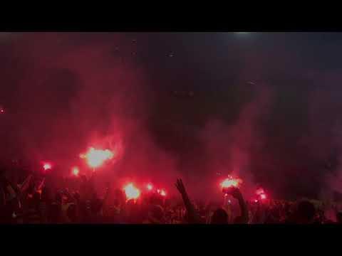 Recibimiento Peñarol vs nacional - Barra Amsterdam - Peñarol - Uruguay - América del Sur