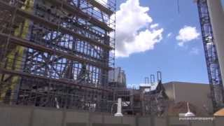 The Wizarding World of Harry Potter Diagon Alley Construction Update July 11th 2013 Universal