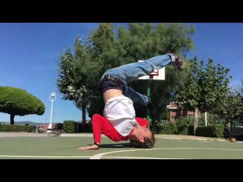 How to Breakdance/Bboy Tutorial - Freezes from footwork ( ENGLISH SUBTITLES )