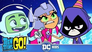 Video Teen Titans Go! | Space Adventures! | DC Kids MP3, 3GP, MP4, WEBM, AVI, FLV Juni 2019