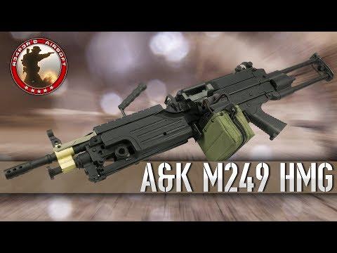 [Review] A&K M249 Para und MK2 - 0,5J FullAuto LMG - 6mm Airsoft/Softair - 4K UHD