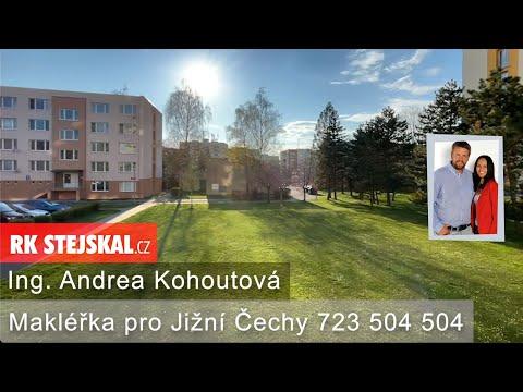 Video Prodej, Byt 4+1 s balkonem České Budějovice 3, 70m2