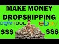 How to Make Money Dropshipping using DSM Tool Software! Watch me list items LIVE!