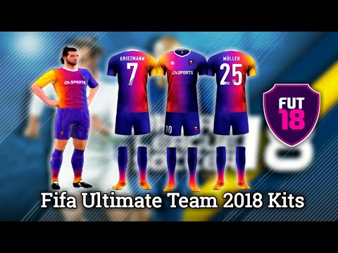 How To Import Fifa Ultimate Team 2018 (FUT 18) Kits & Logos In Dream League Soccer 2018