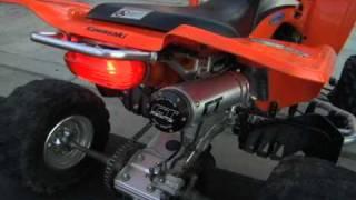 6. 2004 Kawasaki KFX 400 w/ CT Racing Muffler