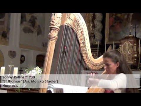 "Sonny Rollins – ""St.Thomas"" (Arr.Monika Stadler), Silke Aichhorn – Harfe / Harp"