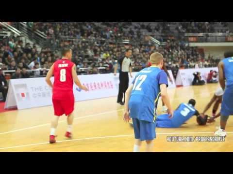 Allen Iverson and The Professor Hoop Together in China (2013)