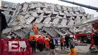 Al menos 12 muertos en Taiwán por sismo