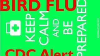 http://pissinontheroses.blogspot.com/2015/06/alert-cdc-issues-human-bird-flu-alert.html(c)2015 www.POTRBLOG.comThe Centers for Disease Control just released an alert warning doctors about the risk, spread, and treatment of Bird Flu in the United States. The risk is tied to the outbreak of Bird Flu in US poultry flocks. Because of the Summer type weather, our risk analysis is that the immediate primary risk comes from direct contact with bird feces, dead birds, infected humans, and locations where bird flu may become aerosolized (such as County Fairs, Poultry Farms and Medical Facilities) We do not expect wide spread fatal human to human spread within the next 4 months. But we do see an increased risk for disruptions to the  national medical system.Our risk mitigation posture includes: (1) Using Hibiclens surgical scrub (2) Avoiding contact with bird feces (3) Maintaining vigilance for USDA wild bird culls as an early warning indicator Sources: available athttp://pissinontheroses.blogspot.com/2015/06/alert-cdc-issues-human-bird-flu-alert.html