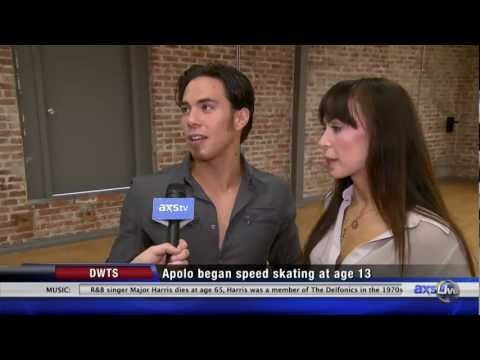 Apolo Ohno - AXSLive is with Apolo Ohno and Karina Smirnoff as the rehearse for Dancing with the Stars. It's obvious from this interivew they've spent a lot of time toget...